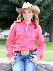 Kaitlyn Reed, 15, will be crowned 2015 Southwestern New Mexico State Fair Queen at 6 p.m. today during the Queen Contest and Cake Auction in the staged fair building at the fairgrounds.