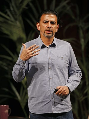 Jaime Casap, Google's Chief Education Evangelist speaks at the 5th Annual Arizona IMPACT Forum 2015 at Chandler Center for the Arts on October 19, 2015.
