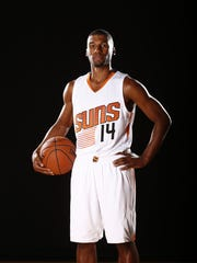 Ronnie Price during Phoenix Suns at media day on Sep.