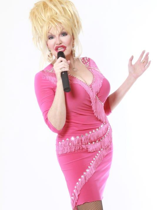 Dorothy Bishop as Dolly Parton