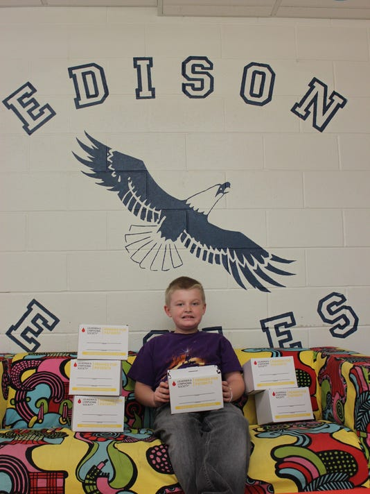 Edison Pennies for Patients Keith Martinez