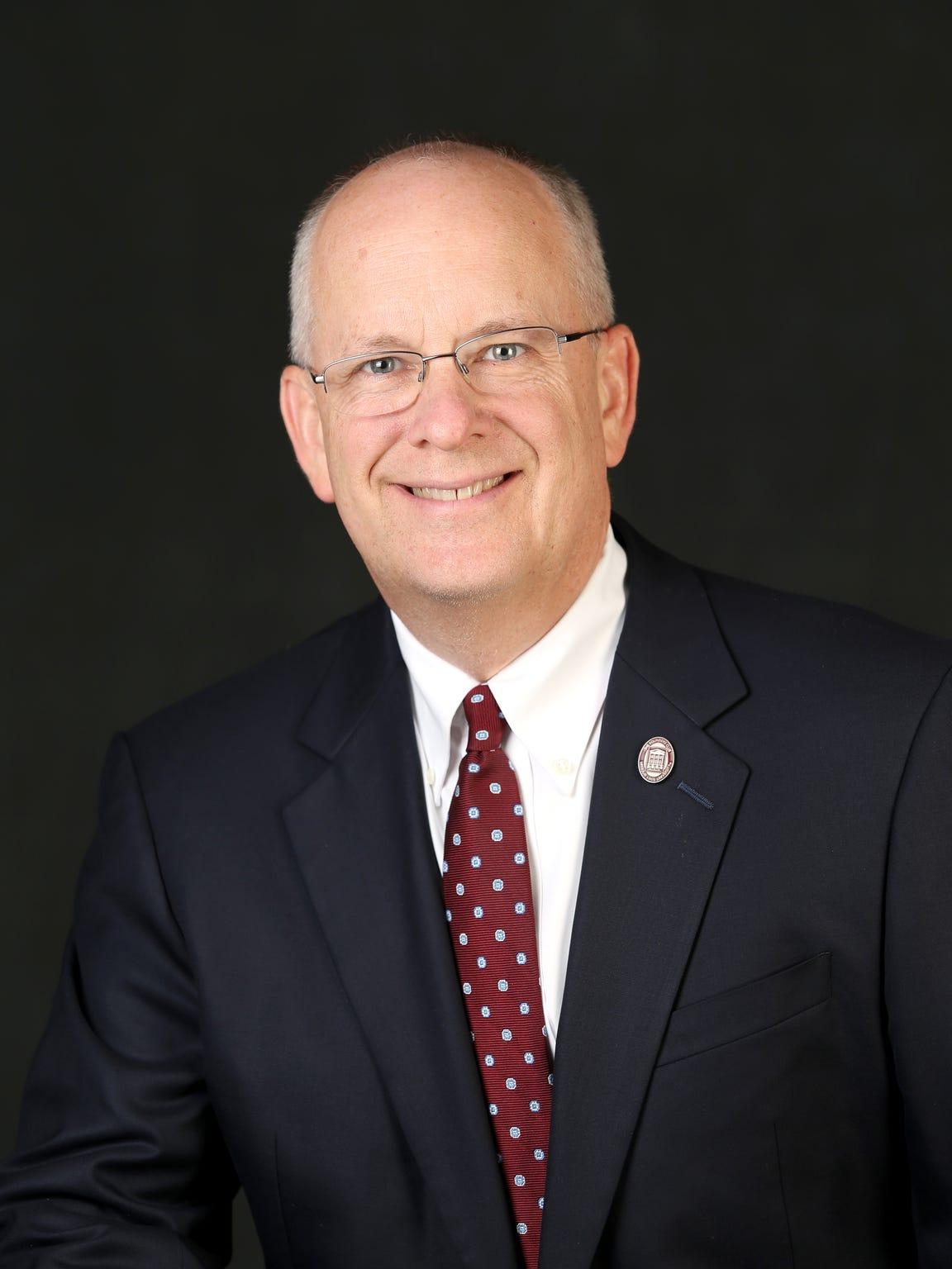 Clif Smart, president of Missouri State University