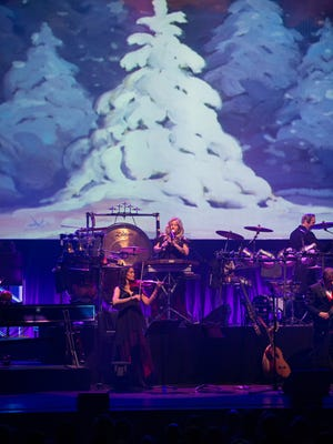 Many of Mannheim Steamroller's festive tunes have become synonymous with Christmas.