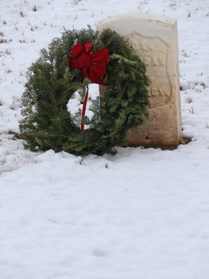 Wreaths Across America came to Fort Bayard National Cemetery on Saturday.