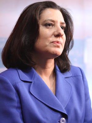 Airport Director Monica Lombraña