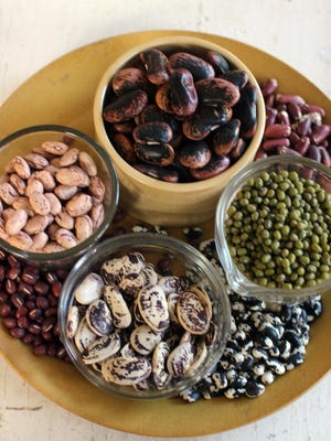 Dried beans are cheap and have lots of fiber.