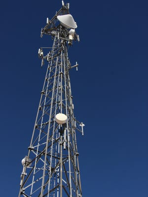 A cell tower in Carlsbad.
