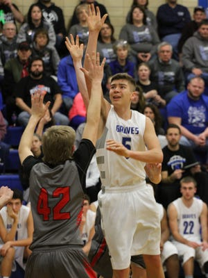 Montezuma's Dakota Strong was named to the first team, SICL for the 2016 basketball season.