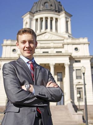 T.F. Riggs' Austin Lentsch is considering politics for his future. Lentsch's career goal is in the medical field.
