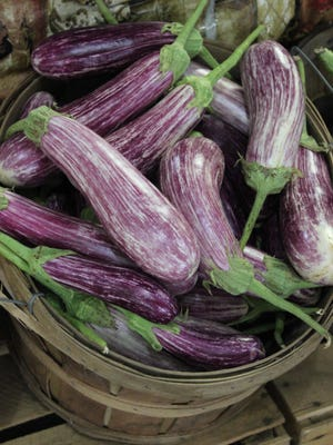 Plant eggplant and other warm weather plants in May.