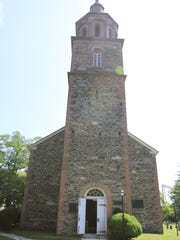St. Paul's Church in Mount Vernon, where Samuel Seabury, who wrote under the pseudonym A.W. Farmer, served as rector.