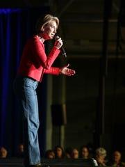 Carly Fiorina, running mate to Sen.Ted Cruz speaks