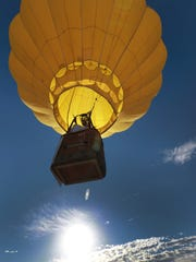 The White Sands Balloon International will be Sept. 15-16.