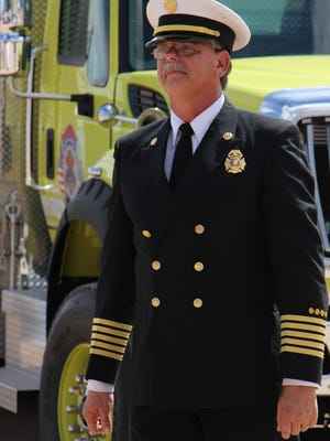 Robert Brader ends his career as director of Eddy County Fire Service.