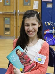 Fourth Grader Danica Sorge discusses young Pulitzer Prize winner, Malala Yousafzai