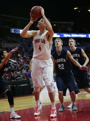 Ryan Kriener led Spirit Lake to the state tournament in March before embarking on a weird summer as an incoming Iowa freshman forward.