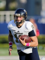 FIU quarterback Alex McGough (12) could be in line