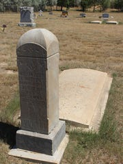 William Joseph Watson was the first person to be buried in the Carter Cemetery. He was a mason and died in 1910.