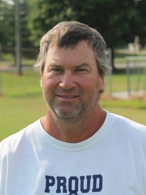Northeast football coach Terry Arrington