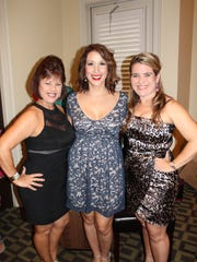 Phyllis Boudreaux, Amy Hebert and Maggie Simar