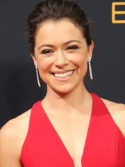 Tatiana Maslany won her first Emmy for 'Orphan Black.'