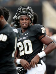 Vanderbilt linebacker Oren Burks is one of the Commodores' best defenders and leader on campus.