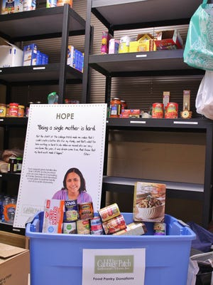 The Cabbage Patch Settlement House is always looking for donations for its food pantry.