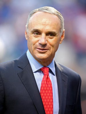 Commissioner Rob Manfred and MLB owners hope to hamer out a new collective bargaining agreement before the current deal expires Thursday.