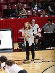 University of Cincinnati volleyball coach Molly Alvey