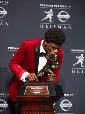 Heisman speech | Text of Lamar Jackson's speech after winning the