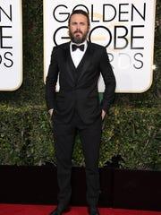 Casey Affleck arrives for the 74th Golden Globe Awards