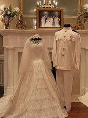 """ON DISPLAY THROUGH MARCH 5 -- Oaklands Mansion, 900 N. Maney Ave. in Murfreesboro, presents the award-winning """"Wedding Dresses Through the Decades"""" exhibit, now on display through March 5. Vintage gowns from the past 100 years will be on display, including Barbara Mandrell's 1967 gown which was handmade by her mother, and the white naval uniform worn by her husband, Ken Dudney. Admission: $10 and museum tours are available at regular rates during regular museum hours and combination tickets for the exhibition and house tours are available at a reduced rate. For more information, contact Mary Beth Nevills at Oaklands 615-893-0022 or email mb@oaklandsmuseum.org."""