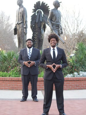 Junior Dex Smith, along with his vice presidential nominee La' Vontae Johnson, are looking to continue the work they started as a team at Tallahassee Community College.