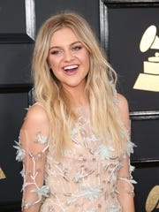 Kelsea Ballerini arrives at the 59th Annual Grammy