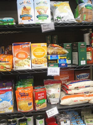 A food pantry at the Iowa Memorial Union on the University of Iowa's campus began serving students, staff and faculty in August.