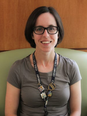 Morgan Reeves, Children's Librarian at the Iowa City Public Library