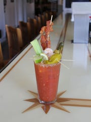 Have it your way at North End Bloody Mary Bar.