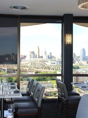 The revolving restaurant on the top floor of the Radisson Hotel in Covington was renovated in spring 2016.