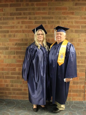 Jim and Patricia Quinn are a married couple who graduated from Lakeshore Technical College together this May.