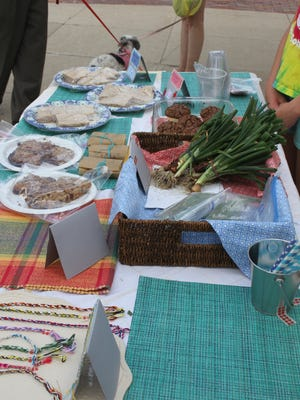 Marengo Farmer's Market, the first of which was Friday, June 2, in the downtown and hosted by the Marengo Chamber of Commerce.