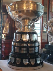 The J.L. Hudson trophy is awarded to the overall winner