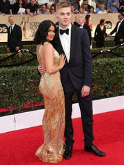 Ariel Winter and Levi Meaden at the Screen Actors Guild