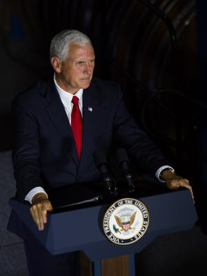 Vice President Mike Pence spoke at Bryant's Rent-All in Lexington, KY, to primarily small business owners about the need to repeal and replace Obamacare. July 12, 2017.