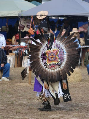A scene from the Santa Rosa County Creek Indian Tribe's annual powwow celebration in 2014. The tribe is breaking ground Aug. 1, 2017, on a cultural center and hopes the center will open before the annual powwow returns in November.