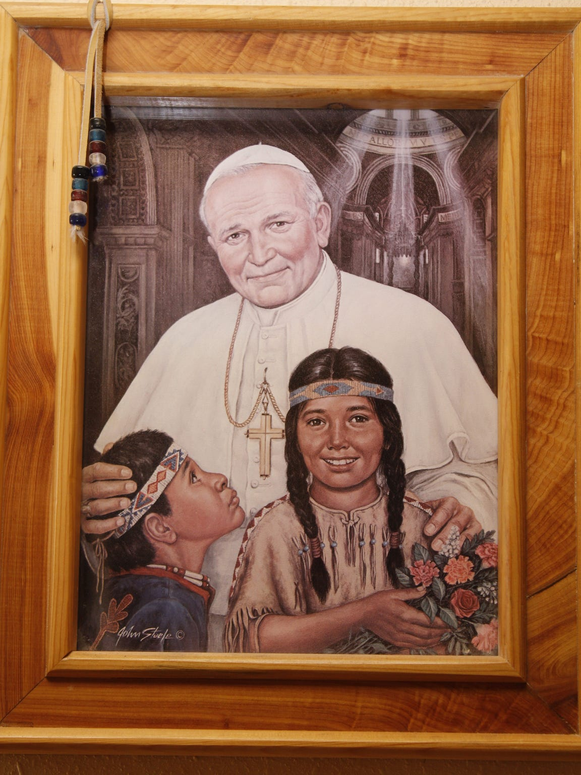 Children are reflected throughout portraits, figurines, stained glass windows and other elements of Catholicism. Pope John Paul II papacy suffered from his lack of timely response to child sexual abuse allegations within the Catholic Church.