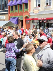 Fondue Fest includes 12 hours of live music on two