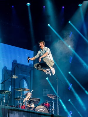 Andrew Taggart and The Chainsmokers