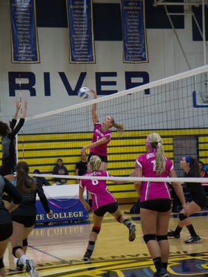Indian River State College's Women's Volleyball team will host its sixth annual Dig Pink volleyball game Oct. 17 at 6 p.m. vs. Miami Dade College at the Main Campus gym in Fort Pierce.