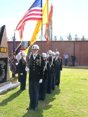 The Deming High School JROTC Wildcat Battalion has been a fixture at Veterans Day in Deming.