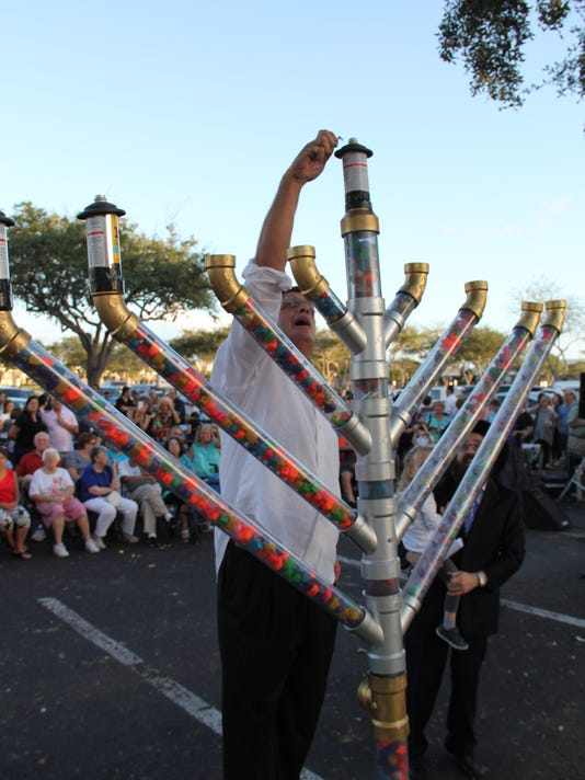 Chanukah celebration in Cape Coral